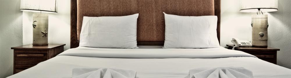 """gemütliches Doppelbett im Hostel """"Zimmer frei"""""""